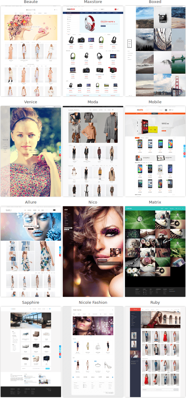 Nicole Fashion Bootstrap 3 eCommerce Template - 3